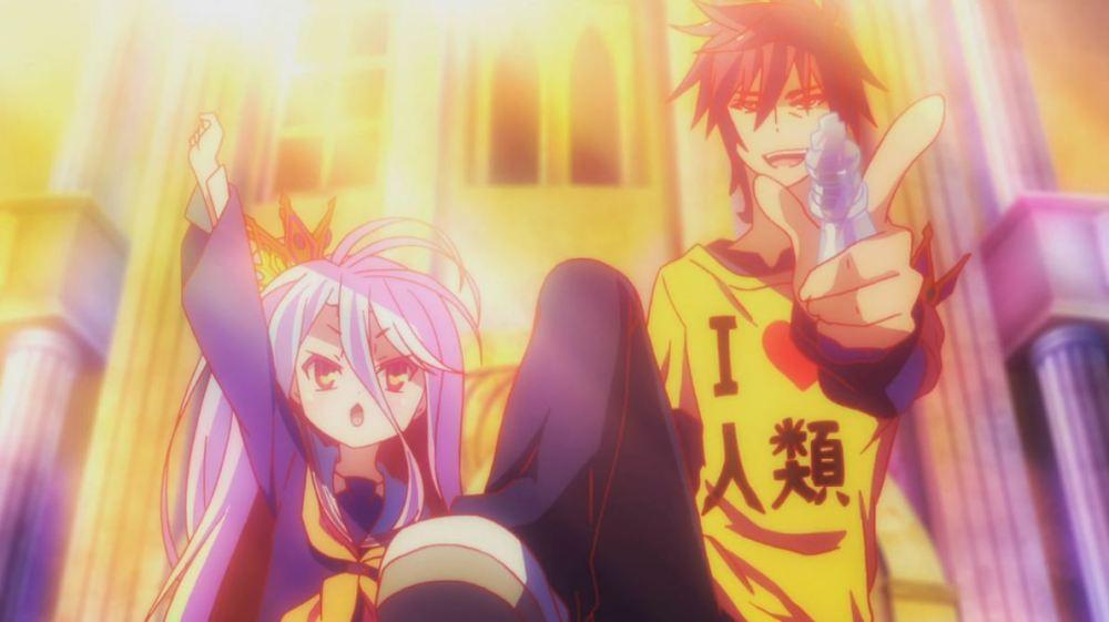 Anime Review: No Game, No Life (2/2)