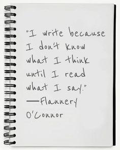 Reflections: Why I Write What I Write (1/4)